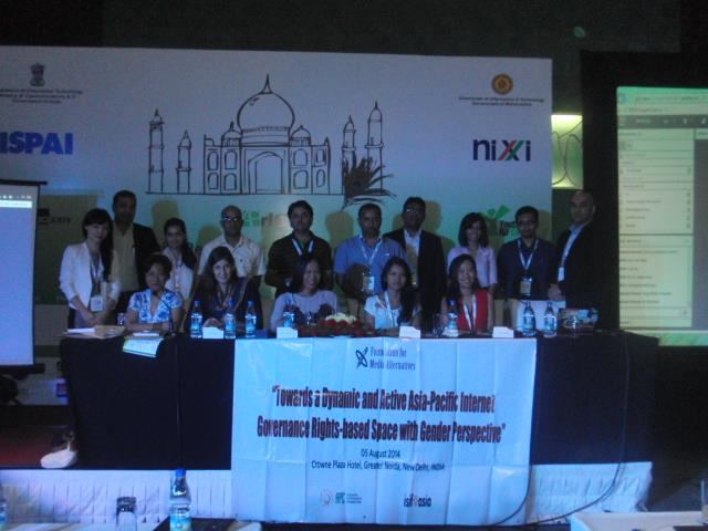 Towards a dynamic and active Asia Pacific Internet Governance rights-based space with gender perspective